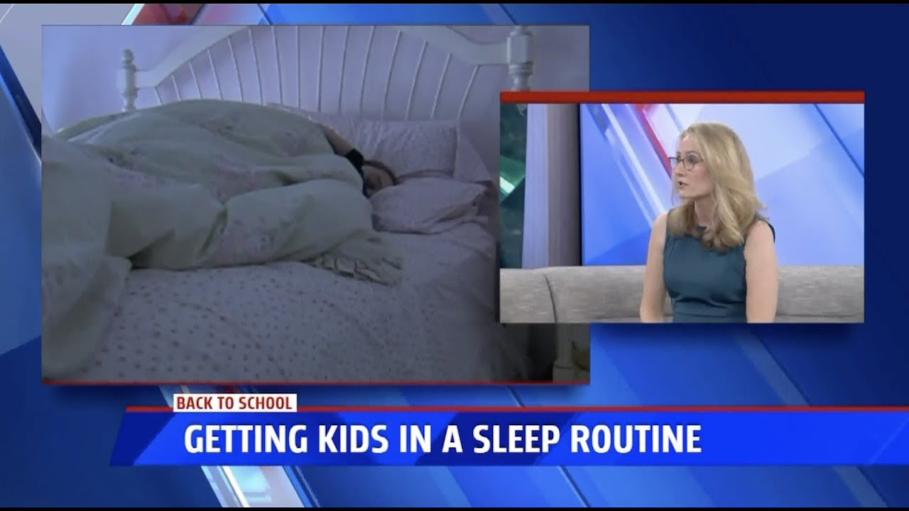 Back to School Sleep Routines-Part 1