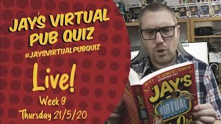 Virtual Pub Quiz, Live Week 9! #withme