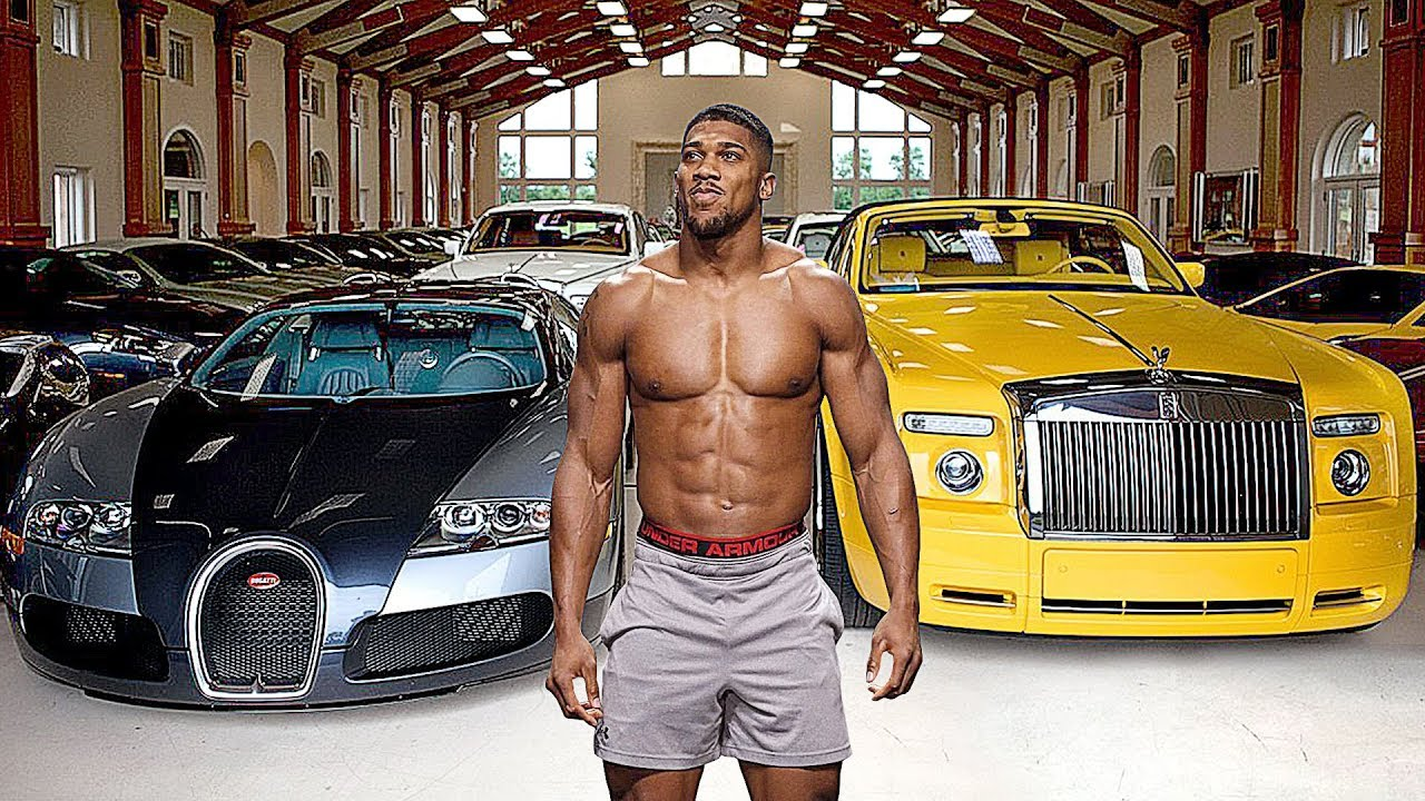 Image result for anthony joshua cars