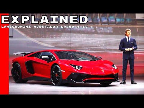Lamborghini Aventador LP750-4 SV Superveloce Explained - 동영상