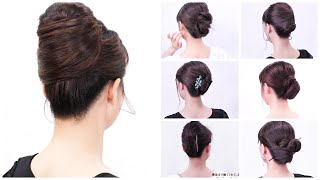 Self french twist hairstyle/Chie's Hair Arrange