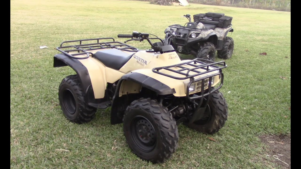 1999 honda fourtrax trx300fw walk around and review youtube. Black Bedroom Furniture Sets. Home Design Ideas