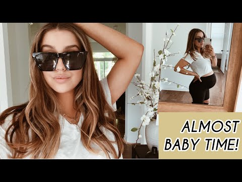 VLOG: Getting The House Ready For Baby + New Hair YAY
