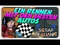 EIN RENNEN MIT DEN ERSTEN AUTOS - SCRAP MECHANIC - Let's Play Scrap Mechanic - Dhalucard