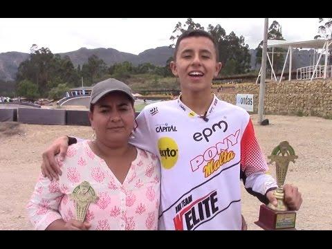 BMX Antioquia- Santiago Santa campeón nacional de BMX en Ubaté