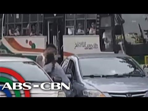 'Tinuro' lang: Babae sa viral video, itinangging sinaktan ang taxi driver