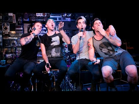 All Time Low Interview in the Red Bull Sound Space at KROQ