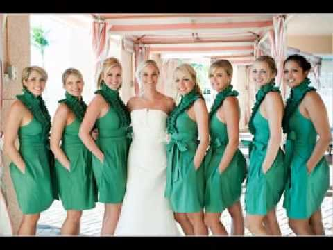 2014 Bridesmaid Dresses Beach Wedding   YouTube