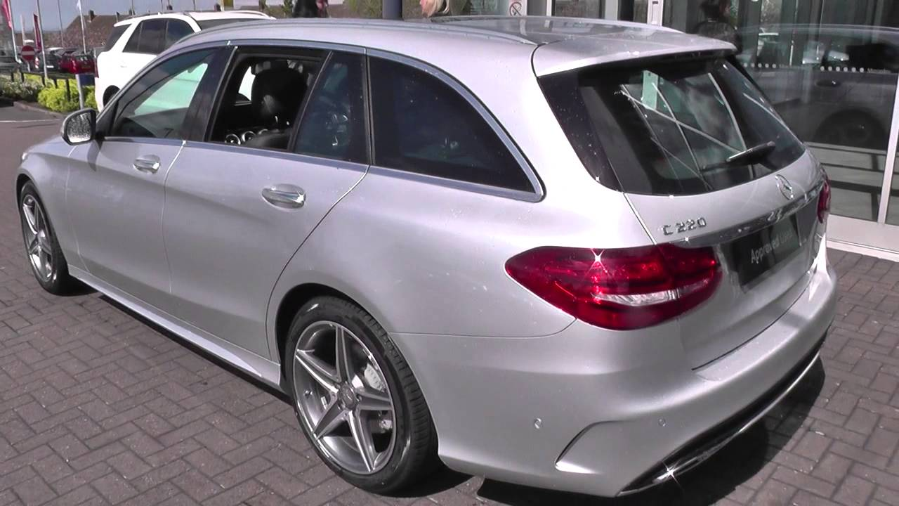 Mercedes Benz C Class Estate 205 C220 Bluetec Amg Line