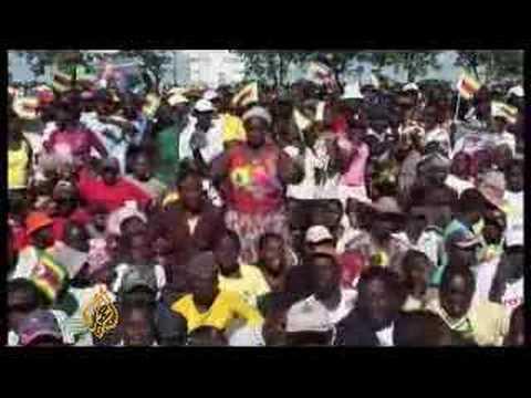 Robert Mugabe speaks to Al Jazeera - 25 Mar 08