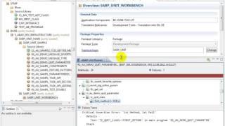 Tutulma Öğreticiler ABAP Çalışan Birim testleri ABAP