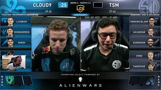 [PapaSmithy VOD Review] Cloud9 vs. TSM LCS Spring Week 6 2019