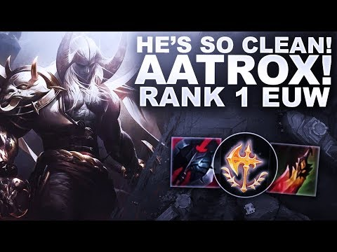 THIS AATROX IS SO CLEAN! HOW TO PLAY HIM? | League of Legends