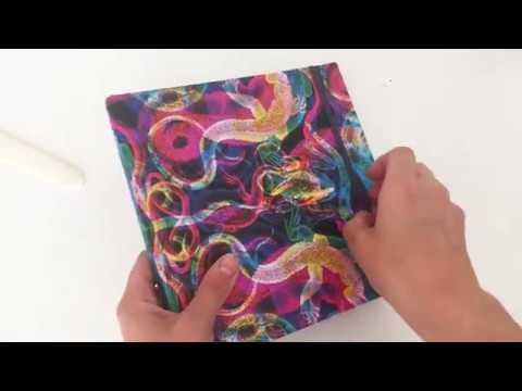 How to make an accordion sketchbook? (DIY Video Tutorial)