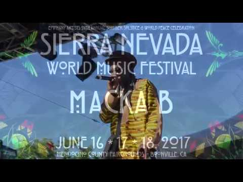 Macka B 'Never Played A 45',  'Reggae Lives On' and '70's Legendary Reggae Icons' SNWMF 6 17 2017
