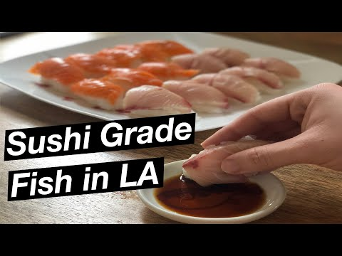 Where To Get Sushi Grade Fish In Los Angeles