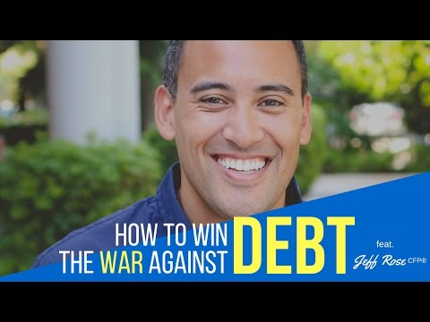 How To Win The War Against Debt with Jeff Rose {AUDIO}