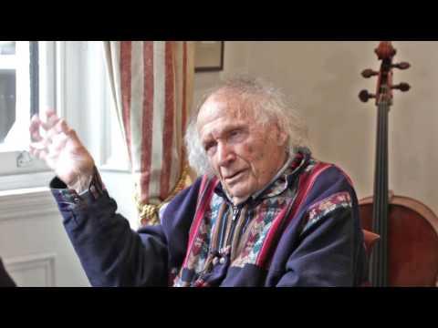 Ivry Gitlis's 'Sancy' Stradivari & Tales from his Career