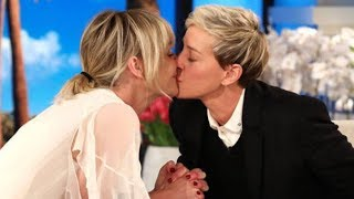 Portia de Rossi surprises Ellen DeGeneres with special gift: a gorilla conservation center