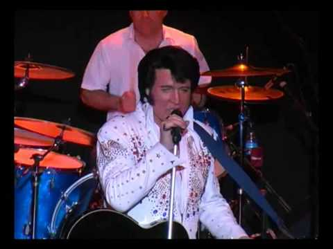 DOUG CHURCH - THE VOICE OF ELVIS - backed by Red Alert and Mills and Boon - CC RIDER