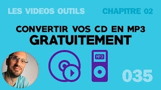 Convertir CD en MP3 gratuitement