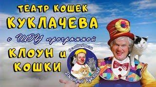 Клоун и кошки шоу программа - Театр кошек Куклачева / Моня и Лёля