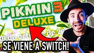 REACCIÓN: Pikmin 3 DELUXE para NINTENDO SWITCH 😅