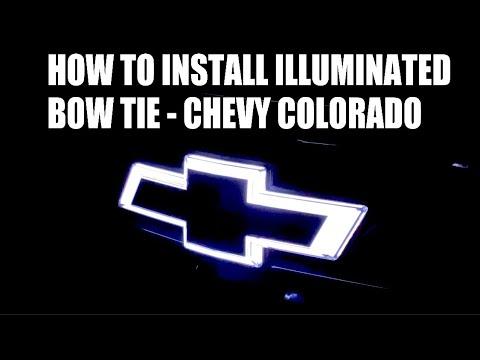 How To Install Illuminated Bow Tie – Chevy Colorado