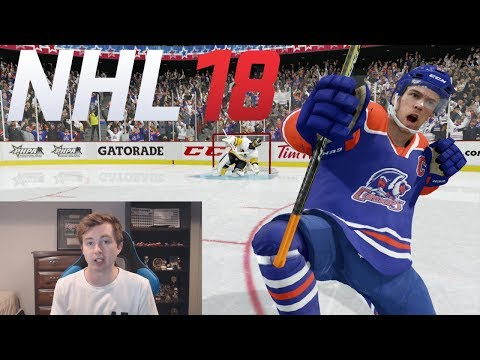 CAN MCDAVID CARRY AN AHL TEAM TO NHL PLAYOFFS? - NHL 18