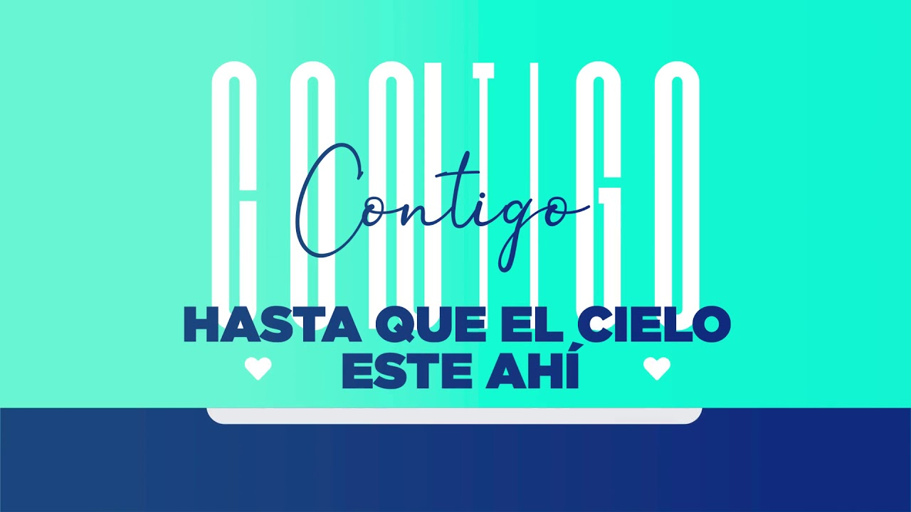 Eddy Herrera  - Contigo - Lyric Video