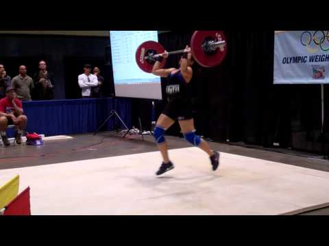 American Record Makers Monica Ruelas 70 clean & Jerk
