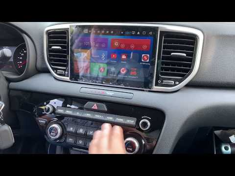 Автомагнитола Kia Sportage 2018+ Головное устройство Redpower 31274