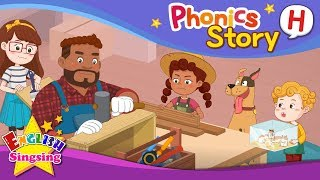 Phonics Story H - English Story - Educational video for Kids