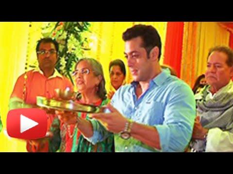 Salman Khan Ganpati Celebrations - SPECIAL PLANS REVEALED !