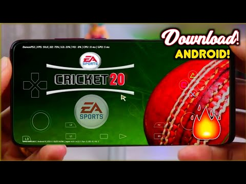 EA Cricket 20 APK DATA Download On Android | Ea Sports Cricket 2020 | 100% WORKING | Hindi