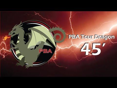 Pba Bowling Dragon Oil Pattern Youtube