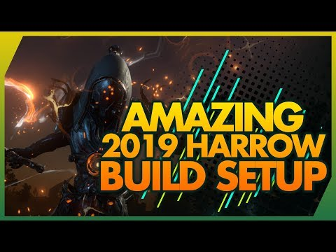 Warframe: AMAZING INFINITE Red-Crit Harrow 2019 Build Setup