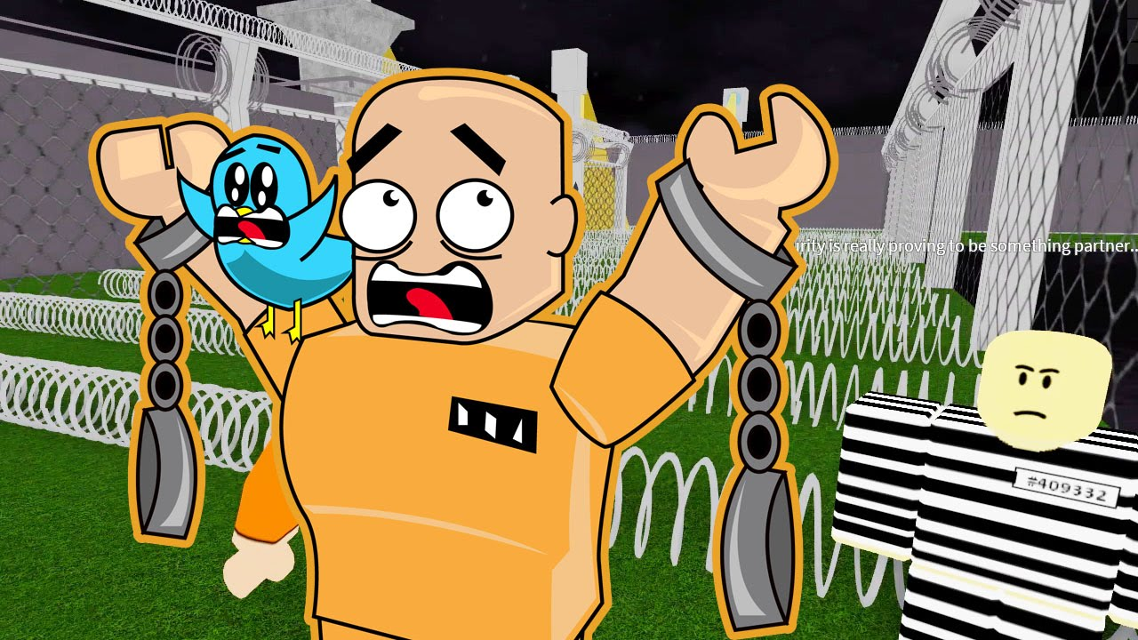 Roblox Escape The Prison Obby I M Bald Gamer Chad Plays Youtube