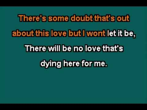 Gregory Porter Karaoke -  No love Dying here