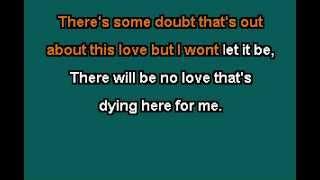 Gregory Porter Karaoke -  No love Dying here