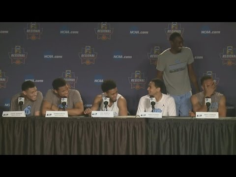UNC Men's Basketball: Theo Crashes Press Conference