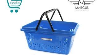 Покупательские корзины для супермаркета 20 л - Обзор PLAST-20