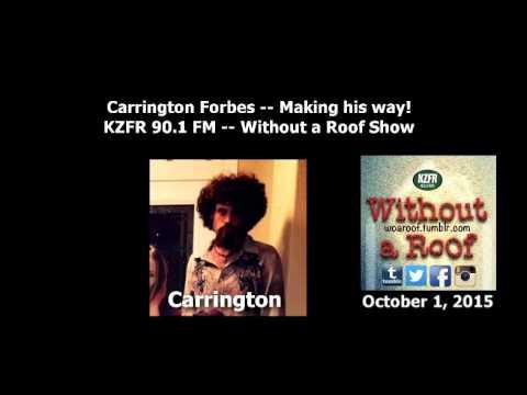 Carrington Forbes: Making his Way