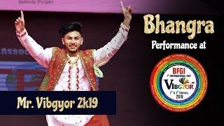 Bhangra | Gurpreet Singh (Mr. Vibgyor 2k19) | BFGI Bathinda