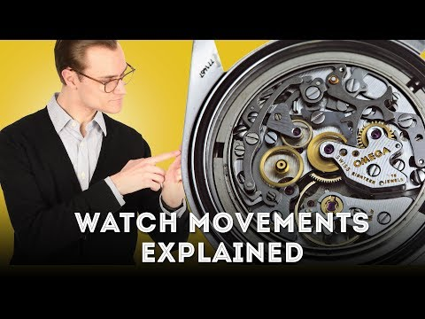 Watch Movements Explained - Mechanical Vs. Automatic Vs. Quartz Watches
