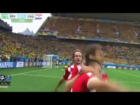 Croatia vs Brazil Marcelo Own Goal