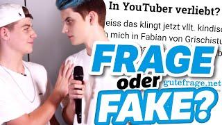 Verliebt in DIESEN YouTuber? FRAGE oder FAKE mit den Grischistudios und Dustin Naujokat!