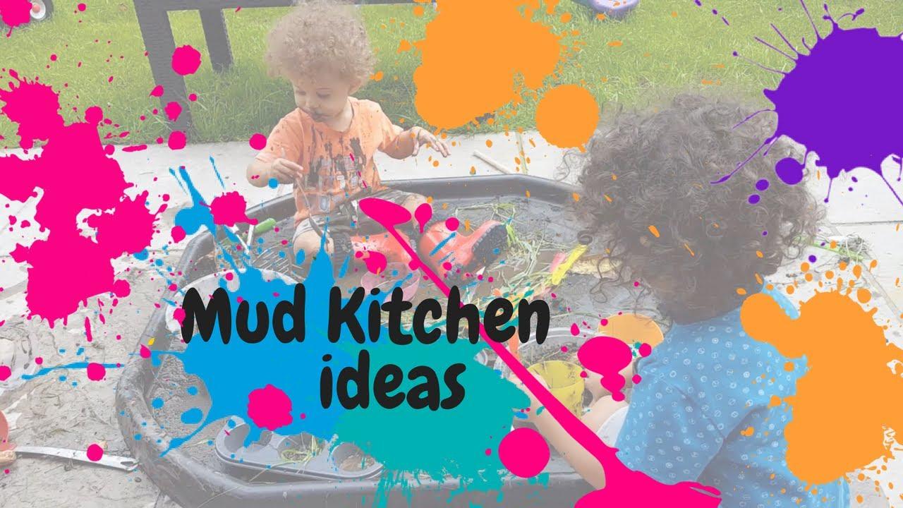 mud kitchen ideas - youtube
