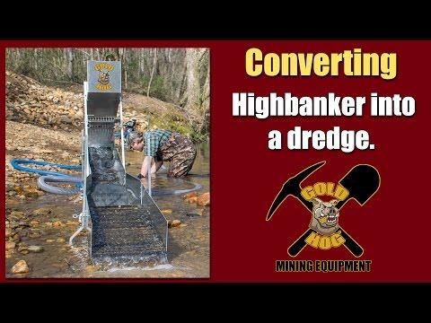 Highbanker Dredge Combo - Converting the Raptor Flare