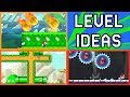 Super Mario Maker - 5 Level Creating Tips and Tricks - Tutorial